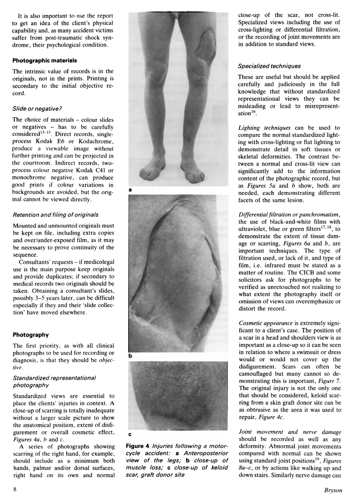 Example of page from published paper